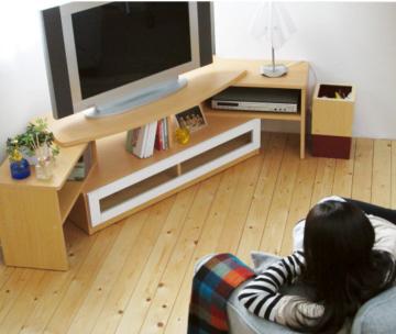 おしゃれな伸縮式テレビ台6