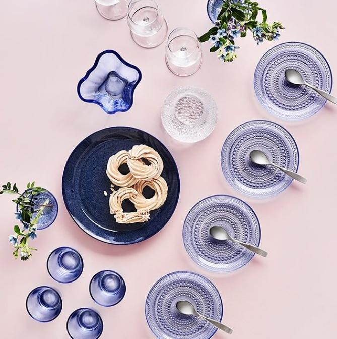 ケーキ皿コーディネート