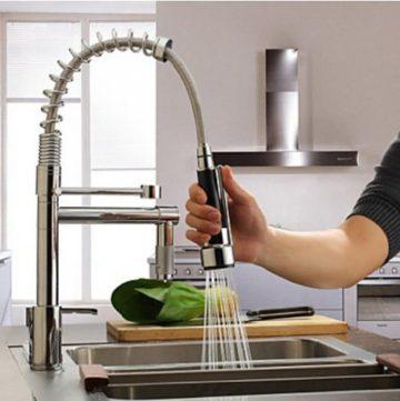 おしゃれなキッチン水栓6