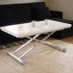 昇降式テーブル リフティングテーブル 天板が2倍に広がる 伸長式 昇降テーブル 「ダブルス」幅11…