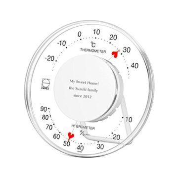 おしゃれな温度計&湿度計4