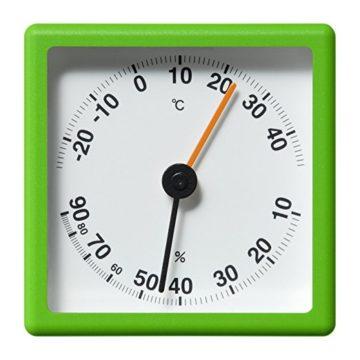 おしゃれな温度計&湿度計1