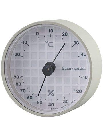 おしゃれな温度計&湿度計2