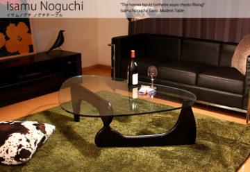 おしゃれなガラスローテーブル2