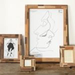 暖かみのあるオシャレ写真立て「木製フォトフレーム」おすすめ8選