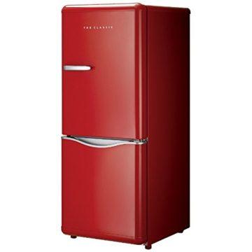 インテリアになる赤い冷蔵庫4