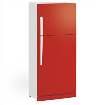 インテリアになる赤い冷蔵庫1