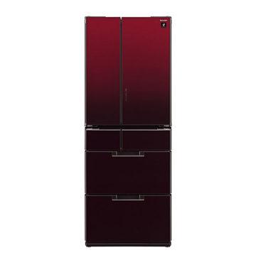 インテリアになる赤い冷蔵庫3
