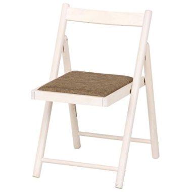 おしゃれな木製折りたたみ椅子2