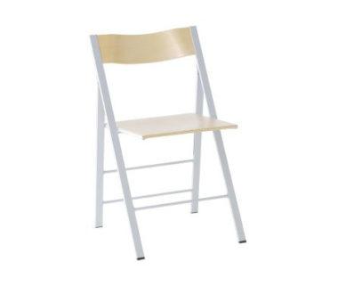 おしゃれな木製折りたたみ椅子4