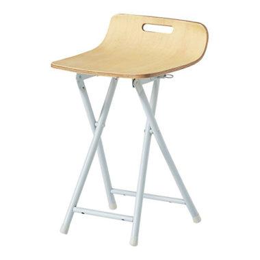 おしゃれな木製折りたたみ椅子7
