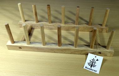 おしゃれな木製ディッシュラック2