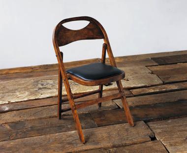 おしゃれな木製折りたたみ椅子6