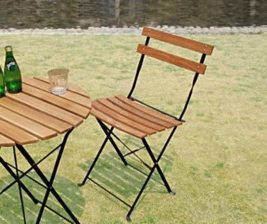 おしゃれな木製折りたたみ椅子8