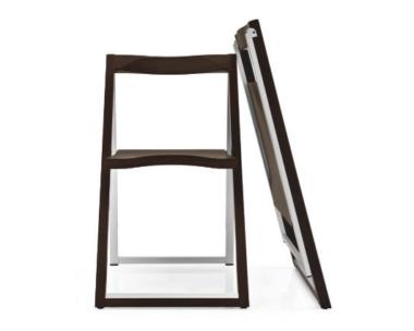 おしゃれな木製折りたたみ椅子3
