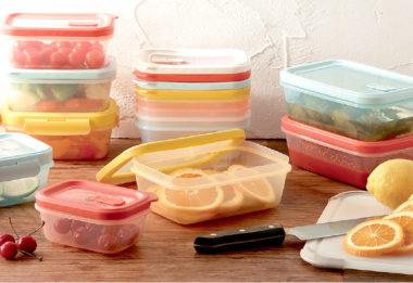 おしゃれなプラスチック保存容器7