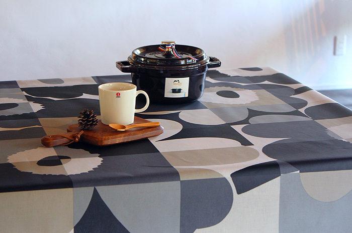 おしゃれな北欧風ビニール製テーブルクロス2