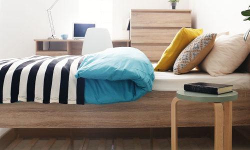 北欧デザインのおしゃれベッド・ベッドフレーム通販おすすめ6選