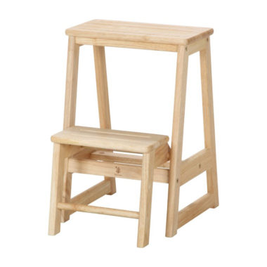 おしゃれな木製の踏み台2