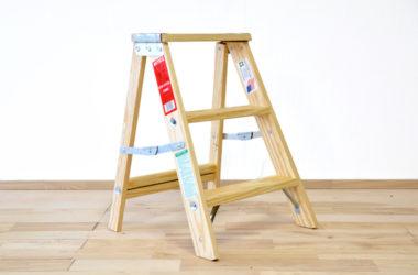 おしゃれな木製の踏み台8