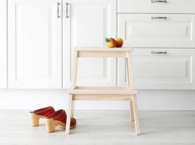 おしゃれな木製の踏み台5