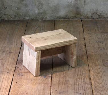 おしゃれな木製の踏み台7