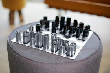 おしゃれなチェス盤セット7