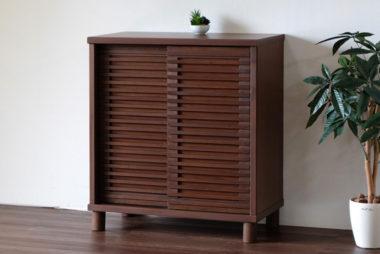 おしゃれな北欧風デザイン木製下駄箱・シューズボックス3