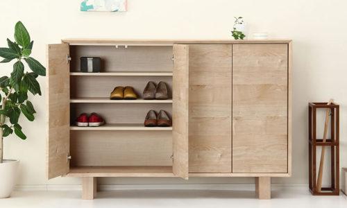 おしゃれな北欧風デザイン木製下駄箱・シューズボックスおすすめ7選