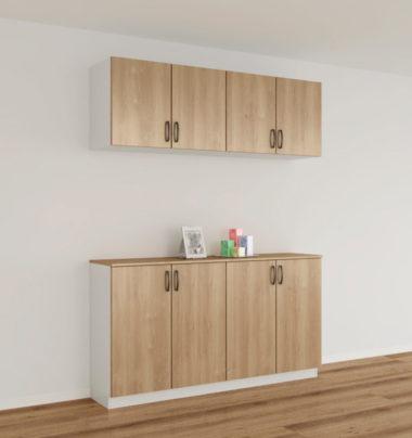 おしゃれな北欧風デザイン木製下駄箱・シューズボックス7