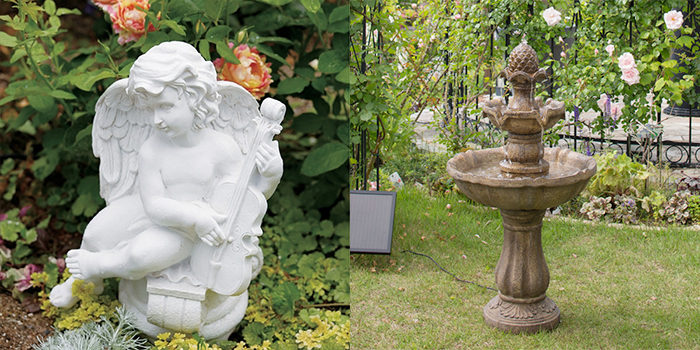 庭のおしゃれな置物通販5
