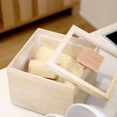 おすすめ おしゃれな桐製の米びつ4