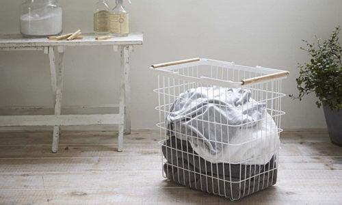 おしゃれなデザインの洗濯かご・ランドリーバスケットおすすめ8選