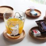 【 日本製 】 ミュゼオ ( Museo ) 木製 コースター ( 小 ) φ88