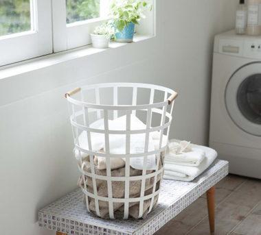 おしゃれな洗濯かご・ランドリーバスケット2