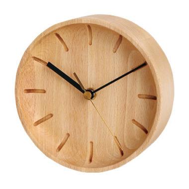 和室に合うおしゃれ木製モダン時計2
