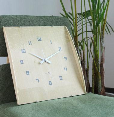 和室に合うおしゃれ木製モダン時計6