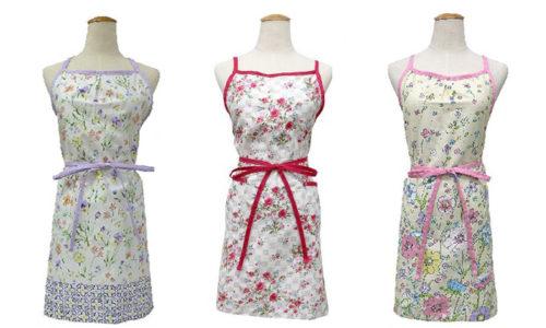 フリルから北欧風まで!かわいい花柄エプロンの人気通販おすすめ6選