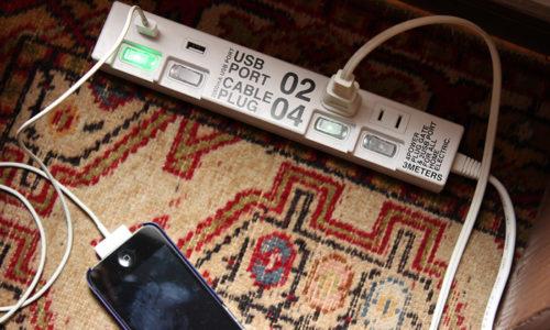 人気のおしゃれなデザインの「スイッチ付き電源タップ」おすすめ7選