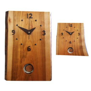 和室に合うおしゃれ木製モダン時計4