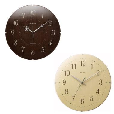 和室に合うおしゃれ木製モダン時計8