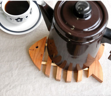 北欧ブランドのおしゃれな木製鍋敷き6