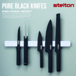 Stelton】 ピュアブラックナイフ サントクナイフ