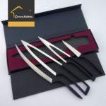 Deglonミーティングナイフ4pcセット – プレミアムステンレススチールシェフナイフset- …