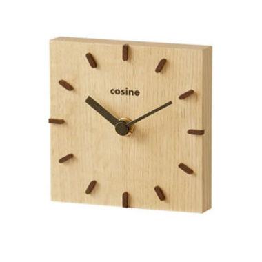 和室に合うおしゃれ木製モダン時計1