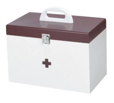 おしゃれでかわいい救急箱1