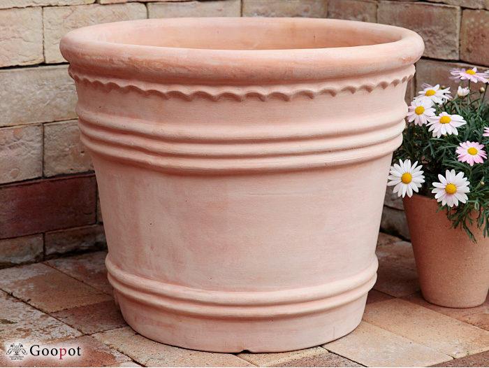 おしゃれな大型テラコッタ鉢の通販4
