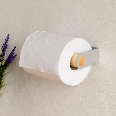 おしゃれな北欧風 木製トイレットペーパーホルダー8