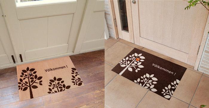 室内用のおしゃれな北欧風の玄関マット通販4