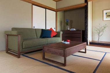 和室畳に合うソファー1